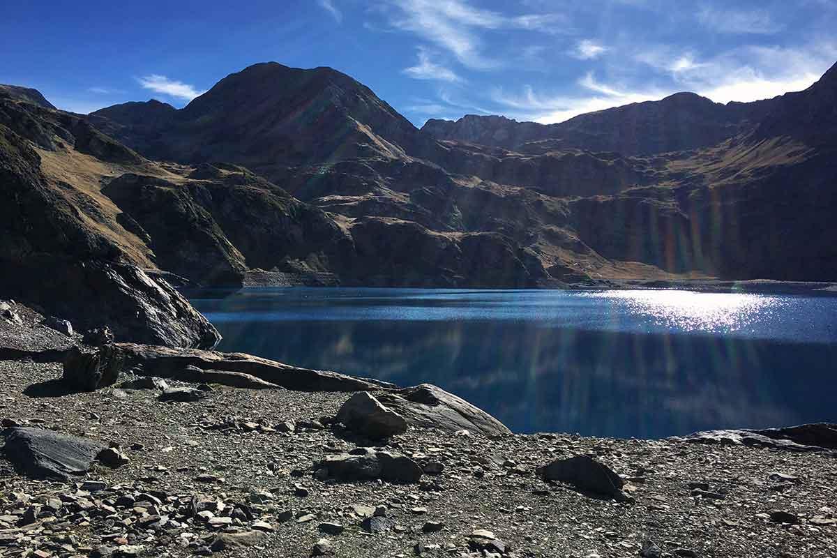 Le Lac Bleu de Lesponne