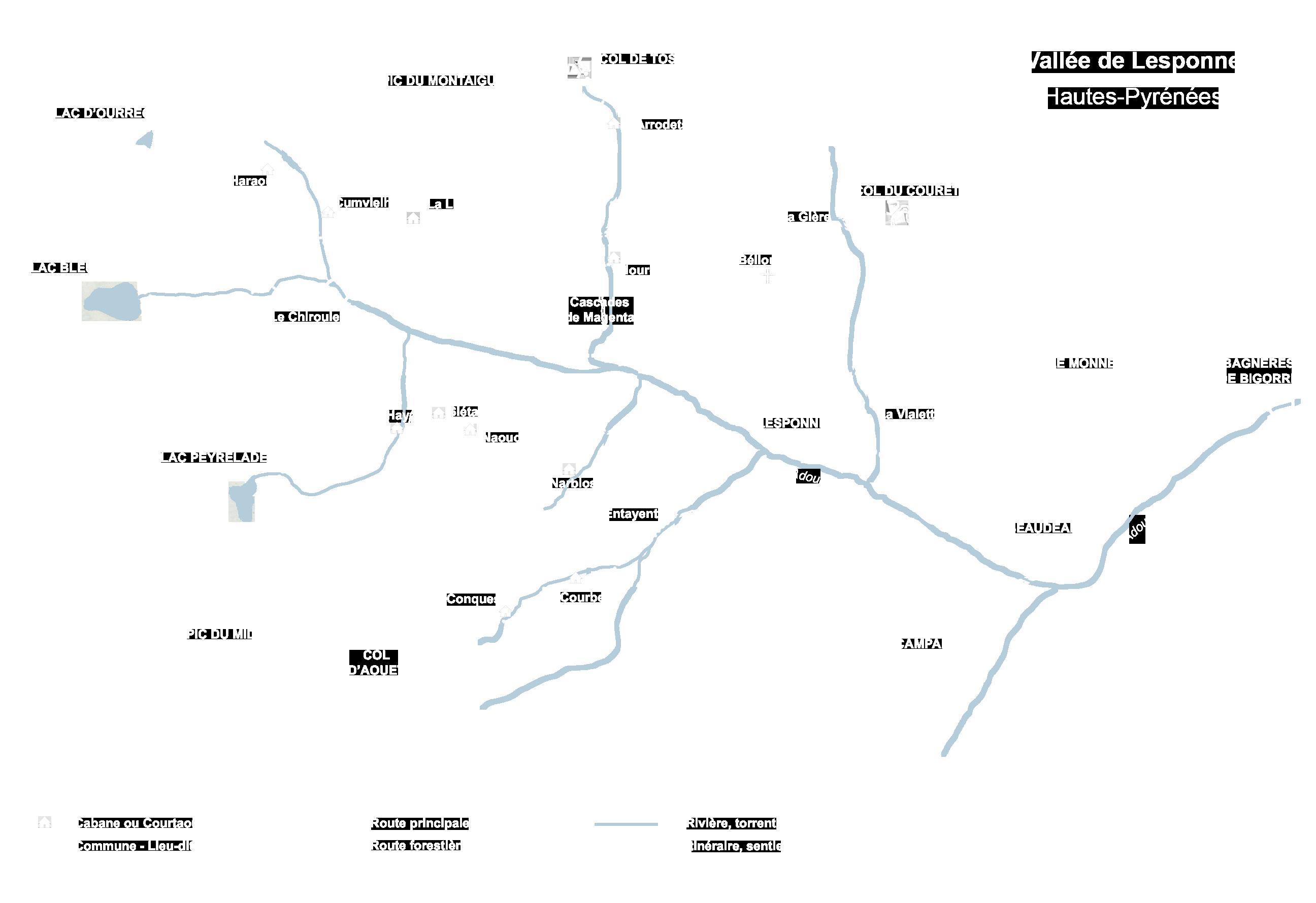 La Vallée de Lesponne